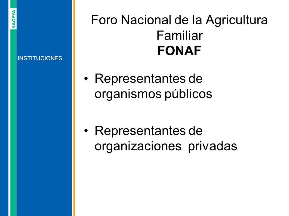 Foro Nacional de la Agricultura Familiar FONAF