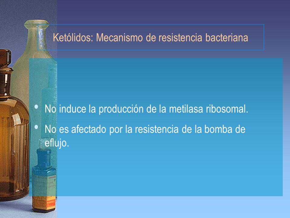 Ketólidos: Mecanismo de resistencia bacteriana