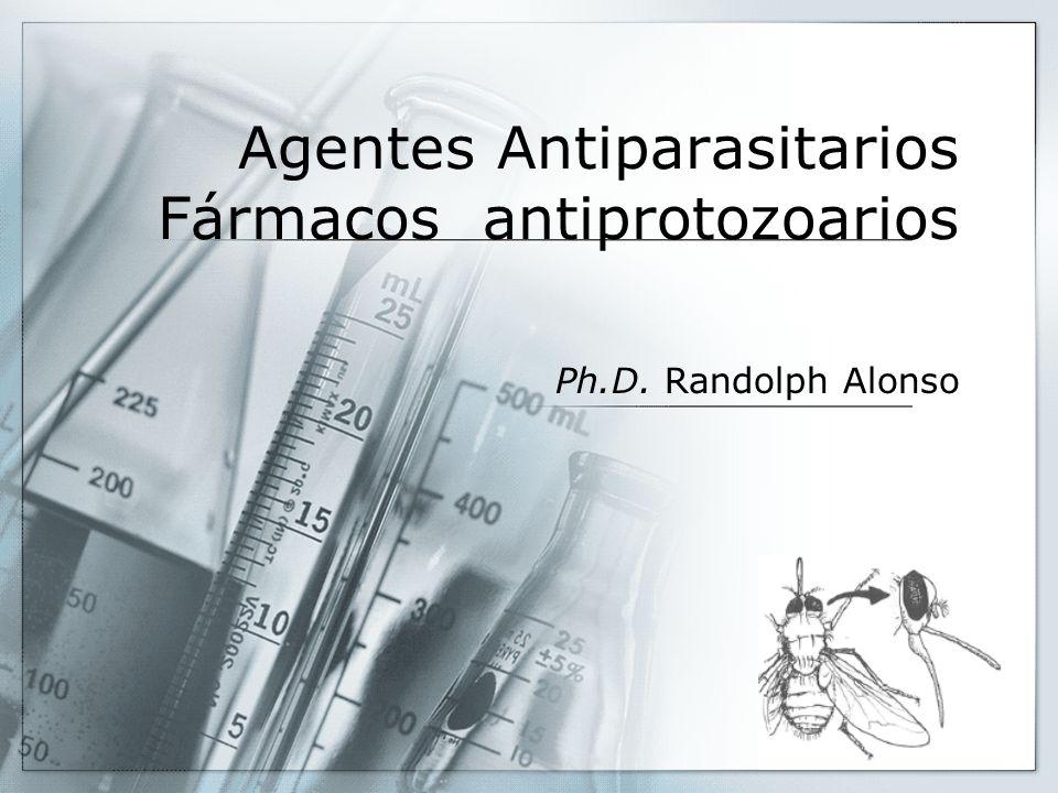 Agentes Antiparasitarios Fármacos antiprotozoarios