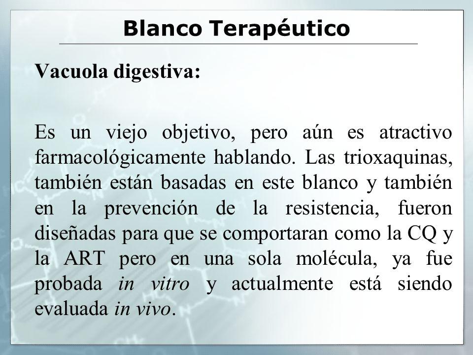 Blanco Terapéutico Vacuola digestiva: