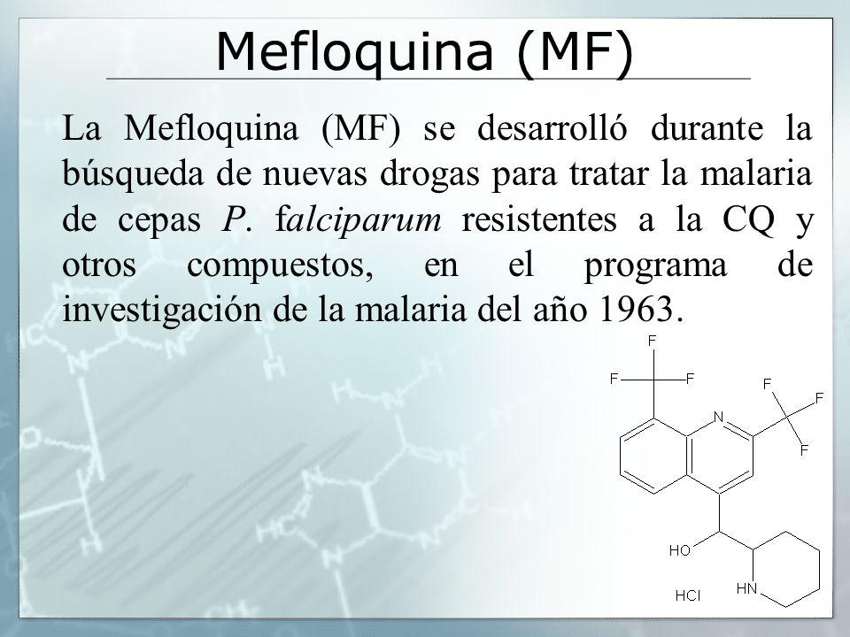 Mefloquina (MF)