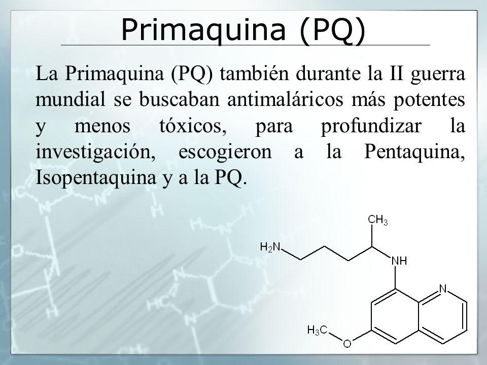 Primaquina (PQ)