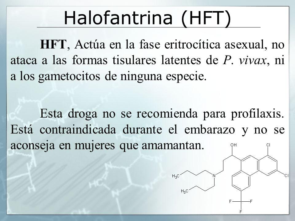 Halofantrina (HFT)