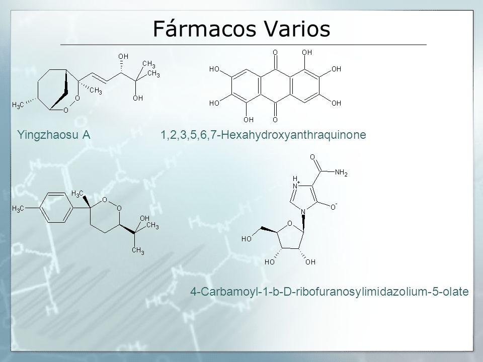 Fármacos Varios Yingzhaosu A 1,2,3,5,6,7-Hexahydroxyanthraquinone
