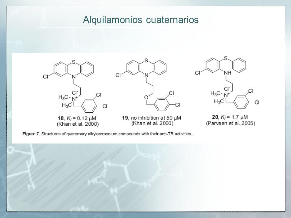 Alquilamonios cuaternarios