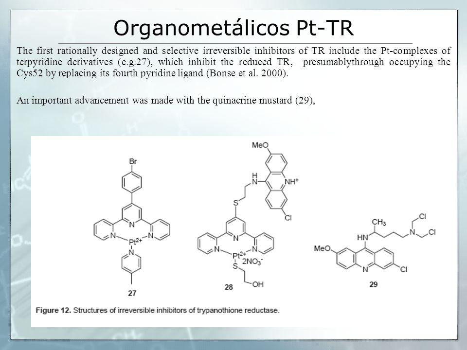 Organometálicos Pt-TR