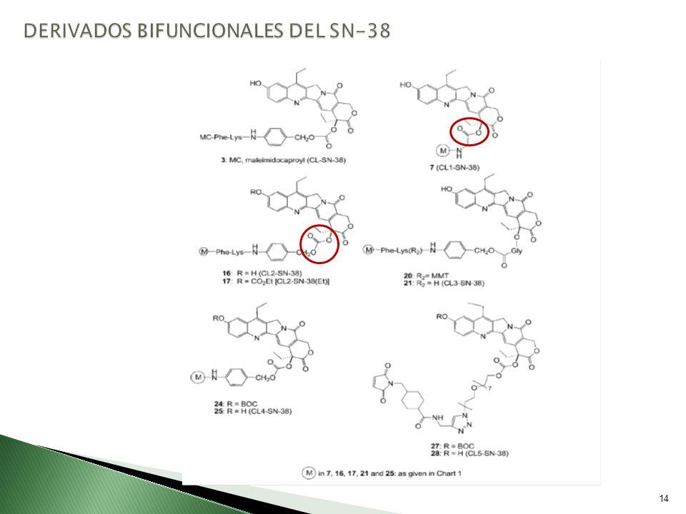 DERIVADOS BIFUNCIONALES DEL SN-38