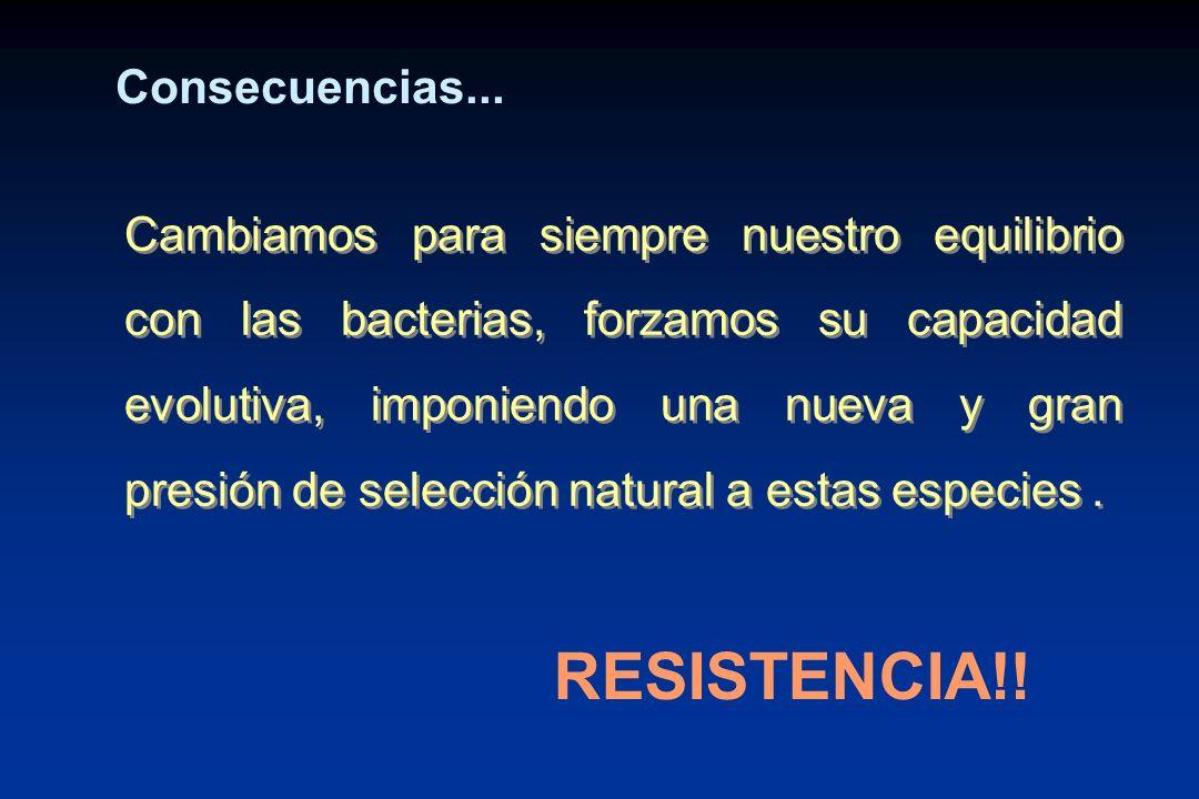 RESISTENCIA!! Consecuencias...