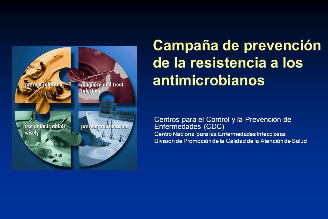 Campaña de prevención de la resistencia a los antimicrobianos