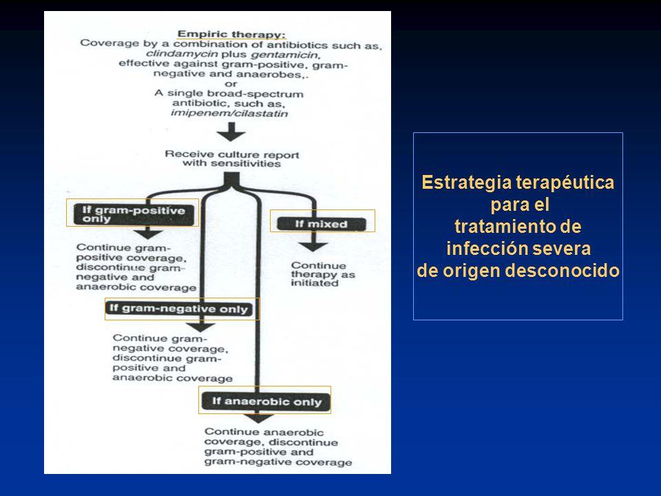Estrategia terapéutica
