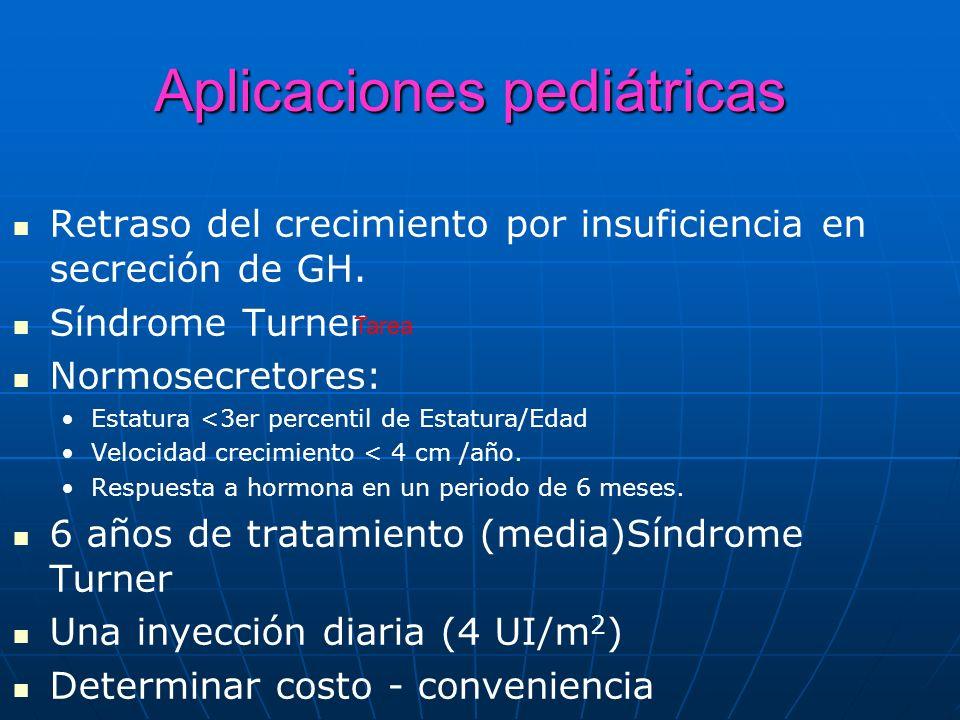 Aplicaciones pediátricas
