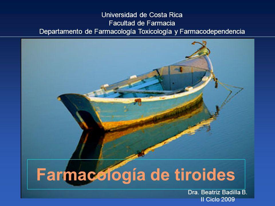 Farmacología de tiroides