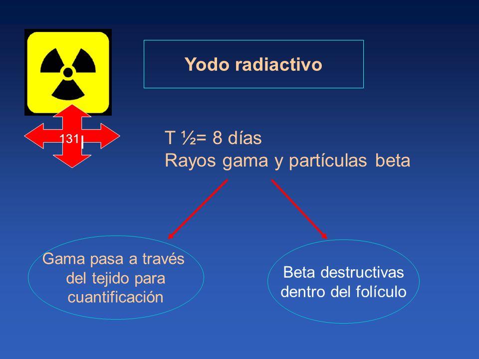 Rayos gama y partículas beta