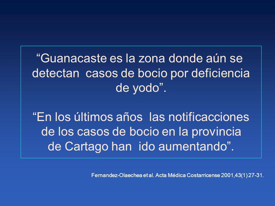 Guanacaste es la zona donde aún se