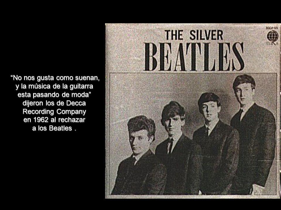 dijeron los de Decca Recording Company