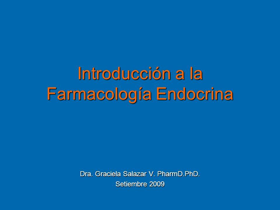 Introducción a la Farmacología Endocrina