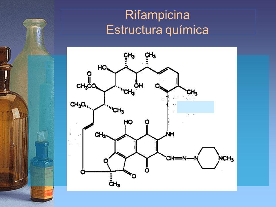 Rifampicina Estructura química