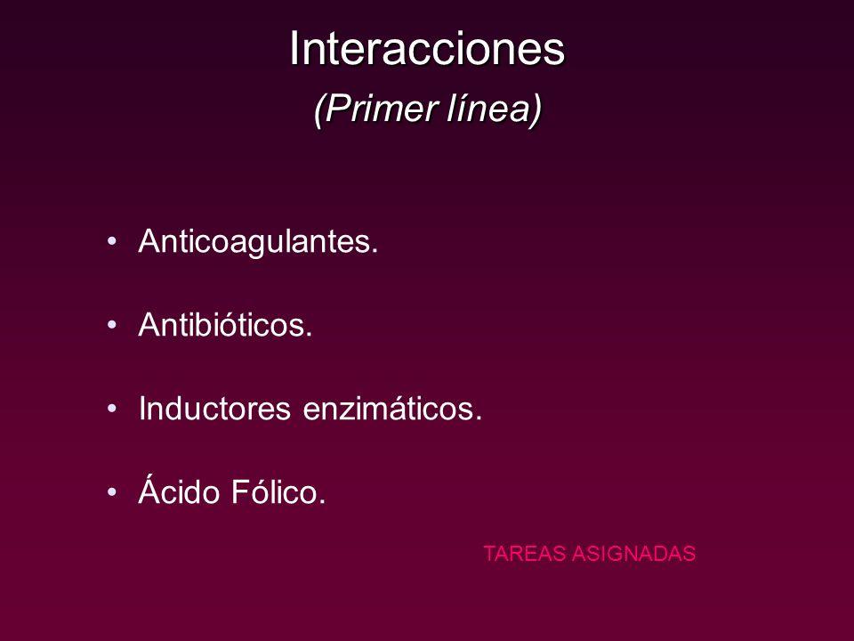 Interacciones (Primer línea)