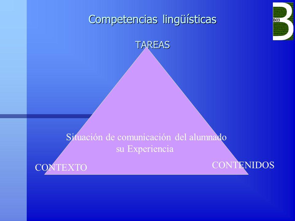 Competencias lingüísticas