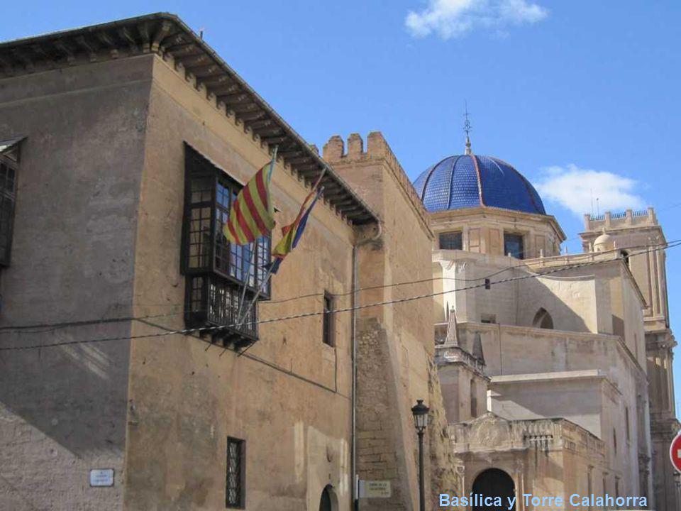 Basílica y Torre Calahorra