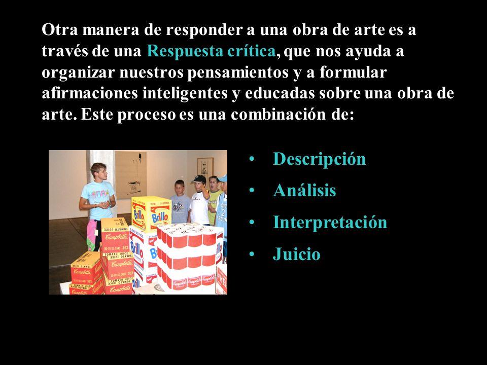 Descripción Análisis Interpretación Juicio