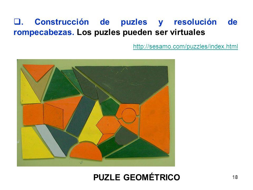 Construcción de puzles y resolución de rompecabezas