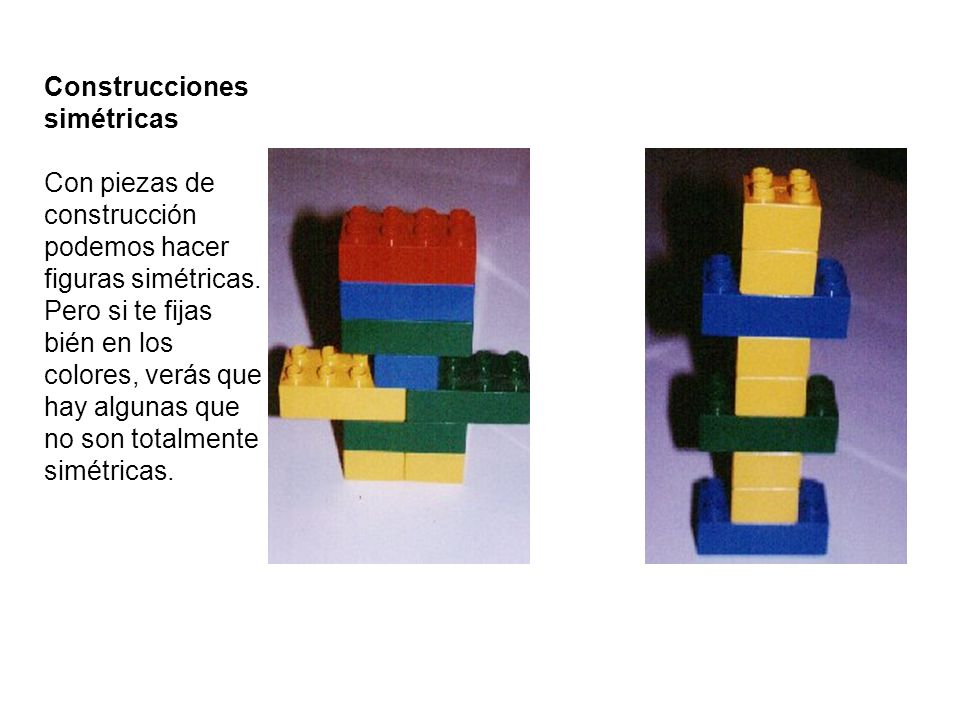 Construcciones simétricas