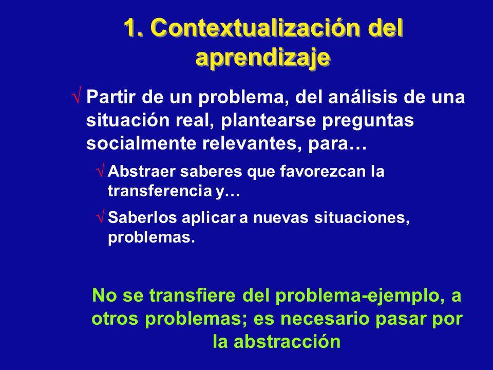 1. Contextualización del aprendizaje