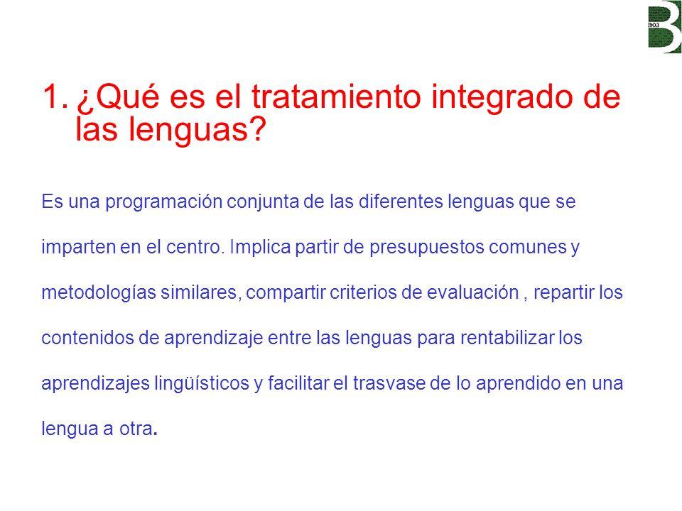 ¿Qué es el tratamiento integrado de las lenguas