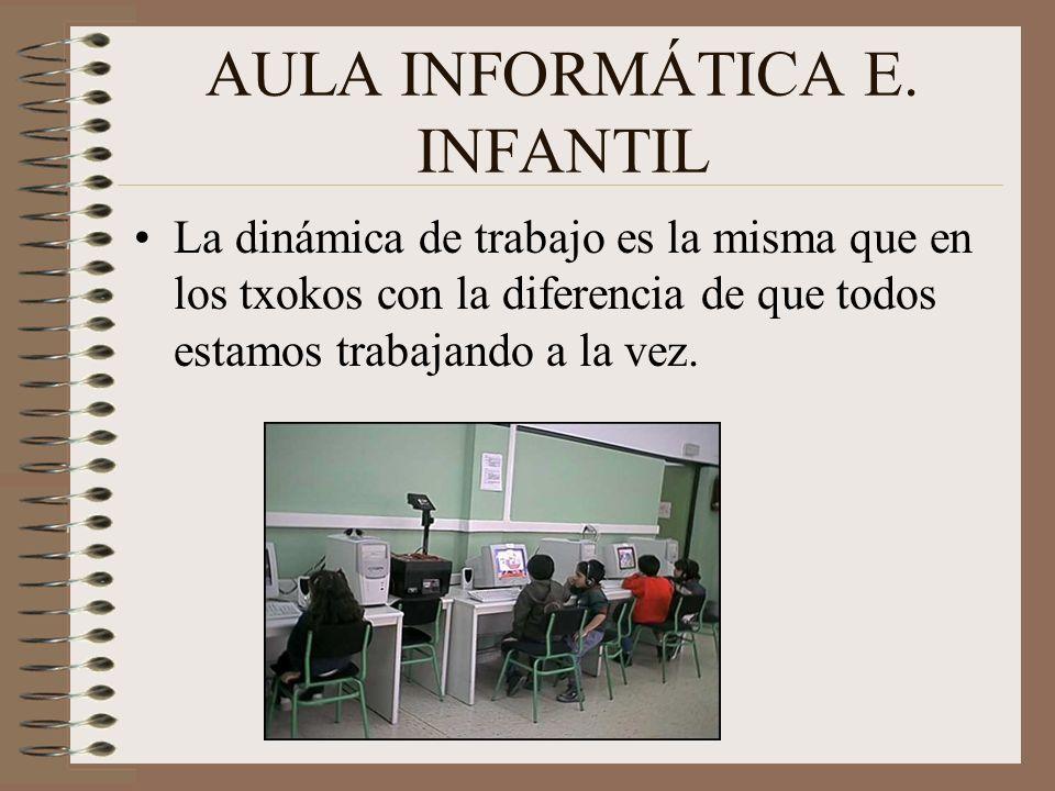 AULA INFORMÁTICA E. INFANTIL