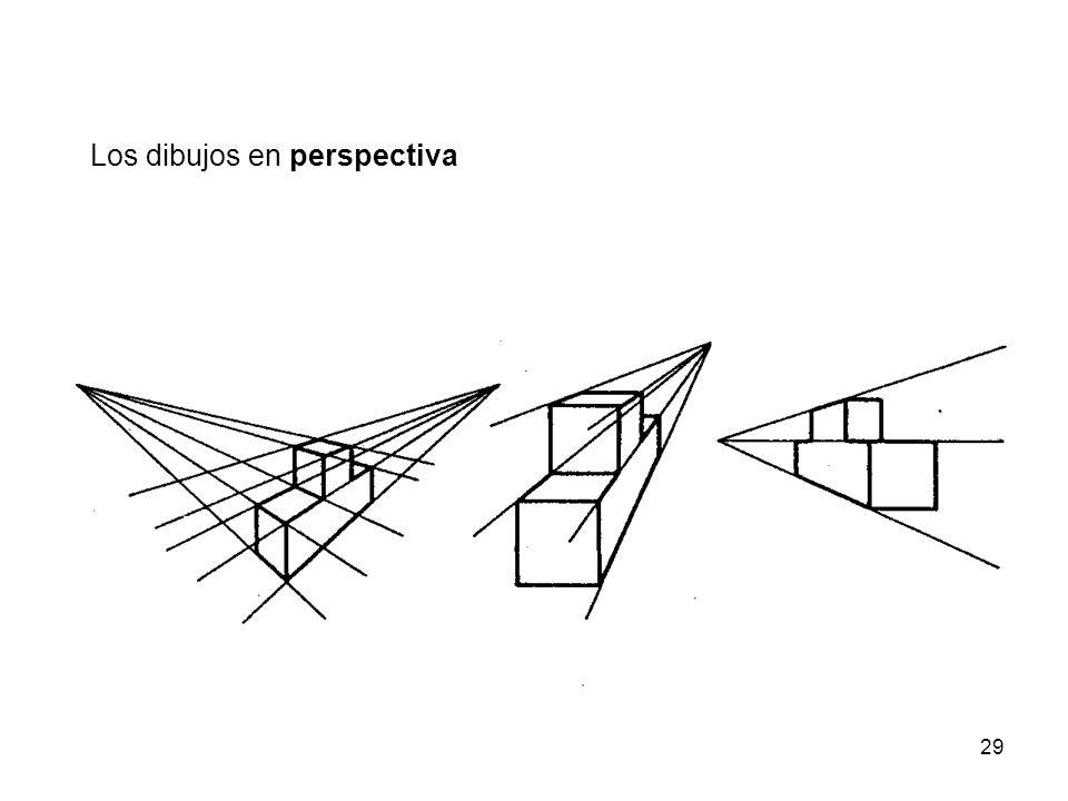 Los dibujos en perspectiva