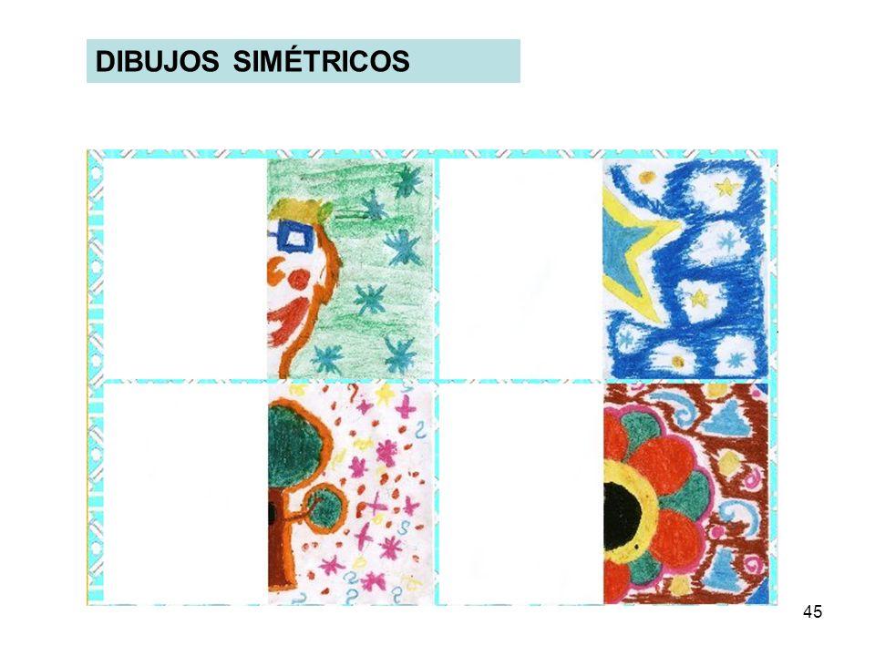 DIBUJOS SIMÉTRICOS