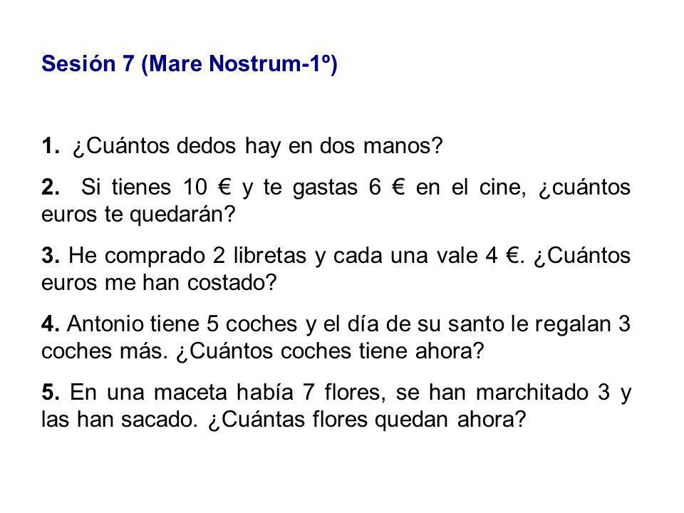 Sesión 7 (Mare Nostrum-1º)