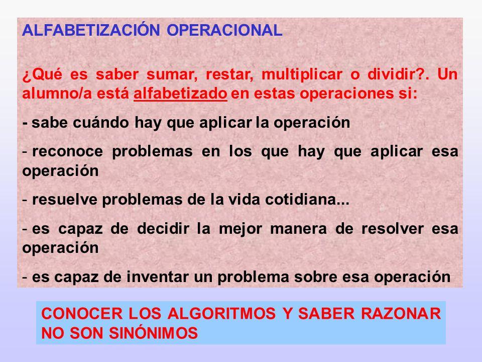 ALFABETIZACIÓN OPERACIONAL