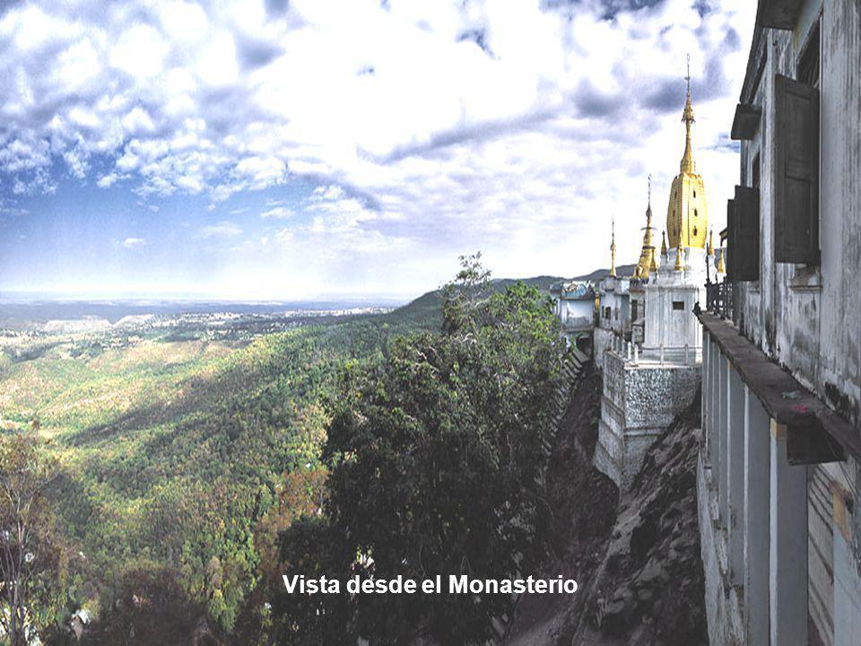 Vista desde el Monasterio