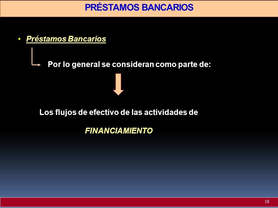 PRÉSTAMOS BANCARIOS Préstamos Bancarios