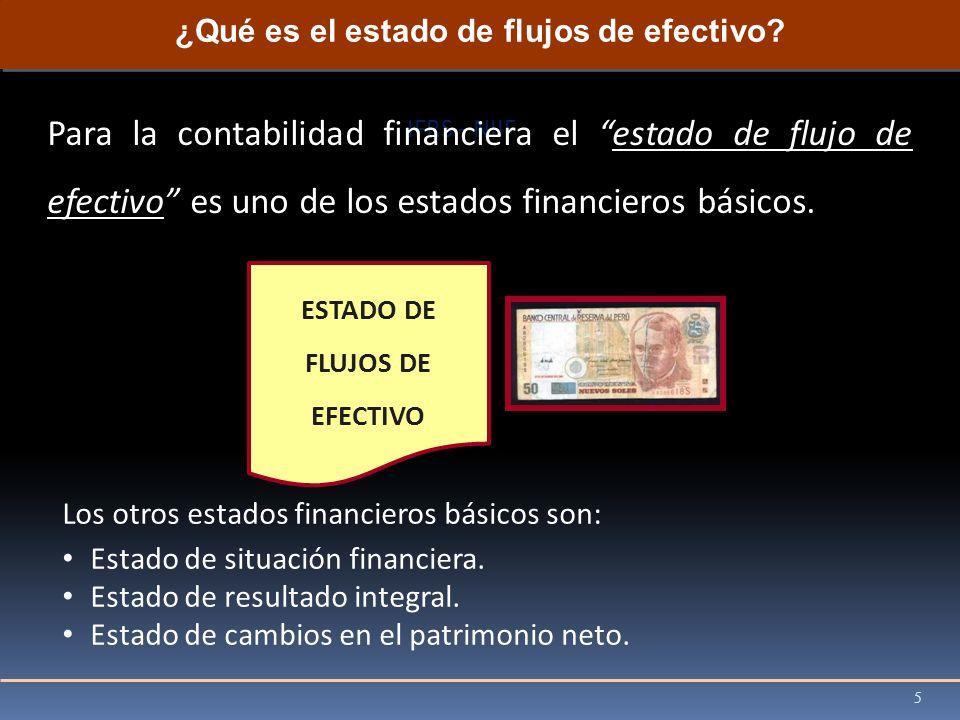 ¿Qué es el estado de flujos de efectivo