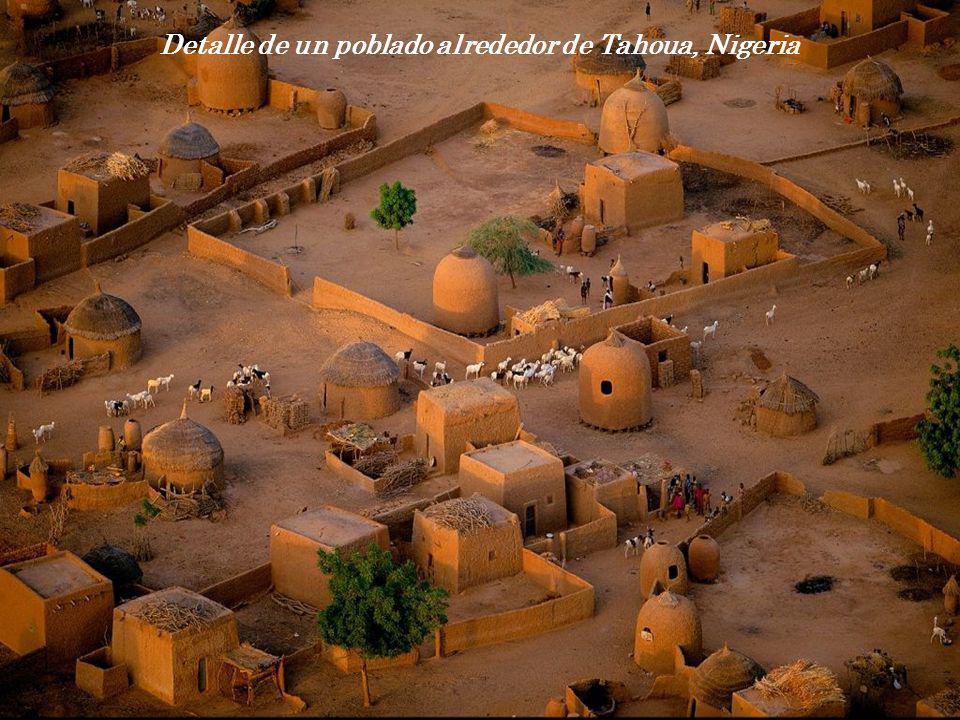 Detalle de un poblado alrededor de Tahoua, Nigeria