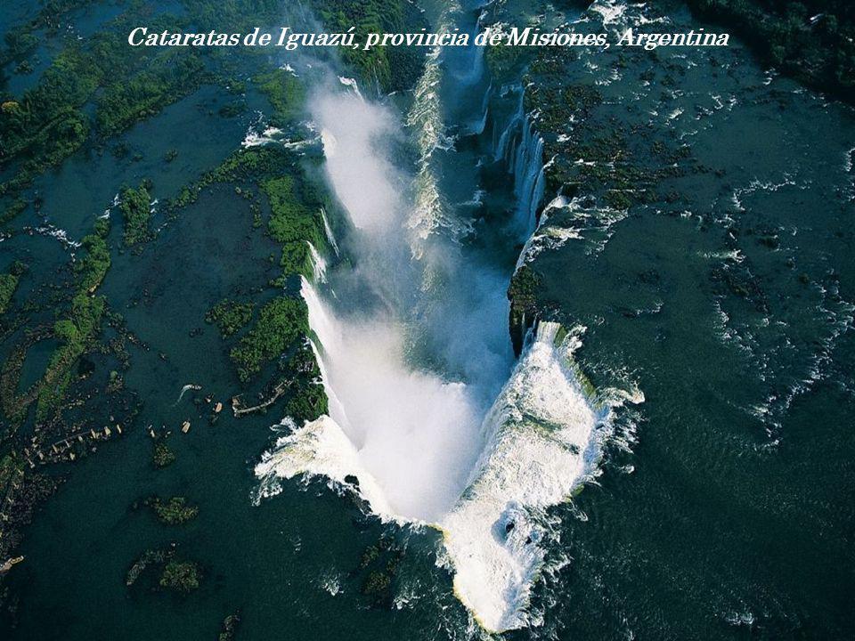 Cataratas de Iguazú, provincia de Misiones, Argentina