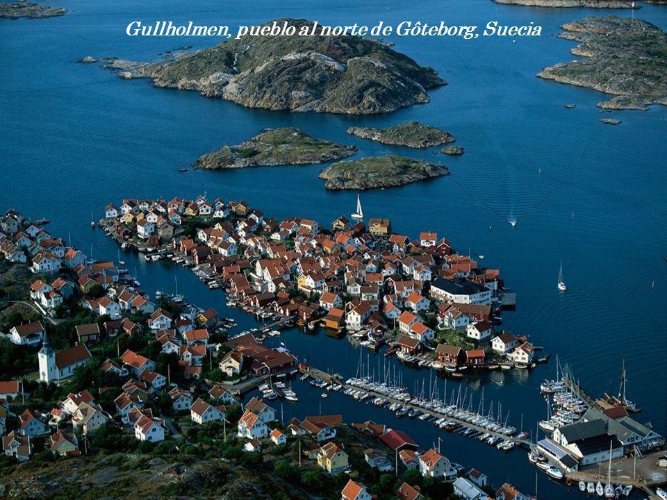 Gullholmen, pueblo al norte de Gôteborg, Suecia