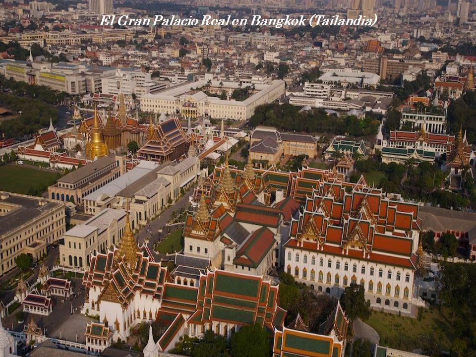 El Gran Palacio Real en Bangkok (Tailandia)