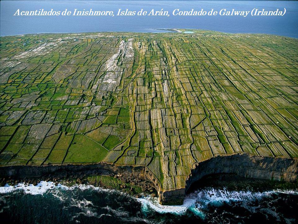 Acantilados de Inishmore, Islas de Arán, Condado de Galway (Irlanda)
