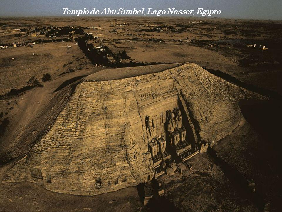 Templo de Abu Simbel, Lago Nasser, Egipto
