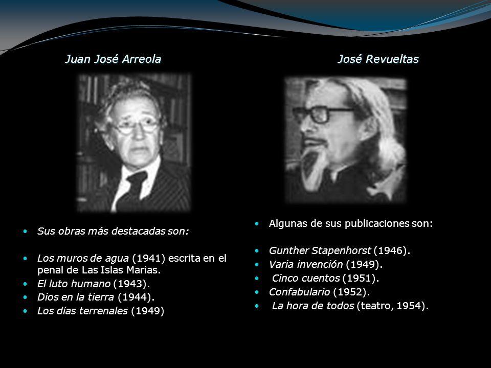 Juan José Arreola José Revueltas
