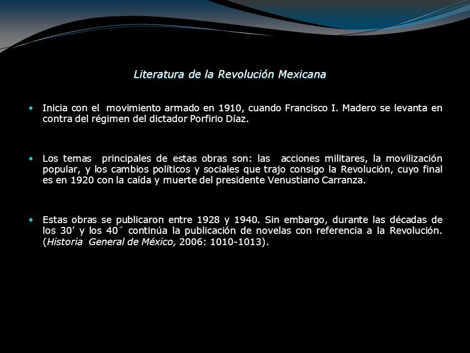 Literatura de la Revolución Mexicana