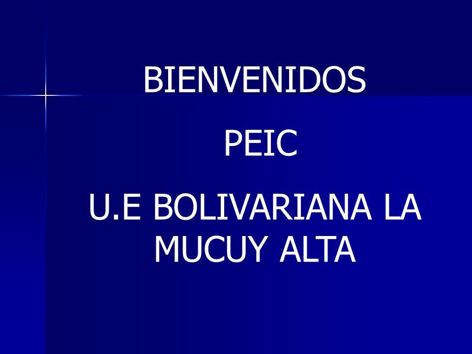 U.E BOLIVARIANA LA MUCUY ALTA