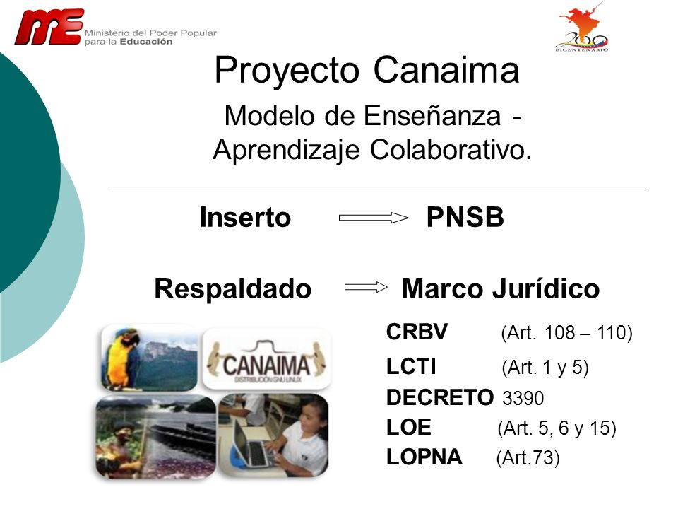 Modelo de Enseñanza - Aprendizaje Colaborativo.