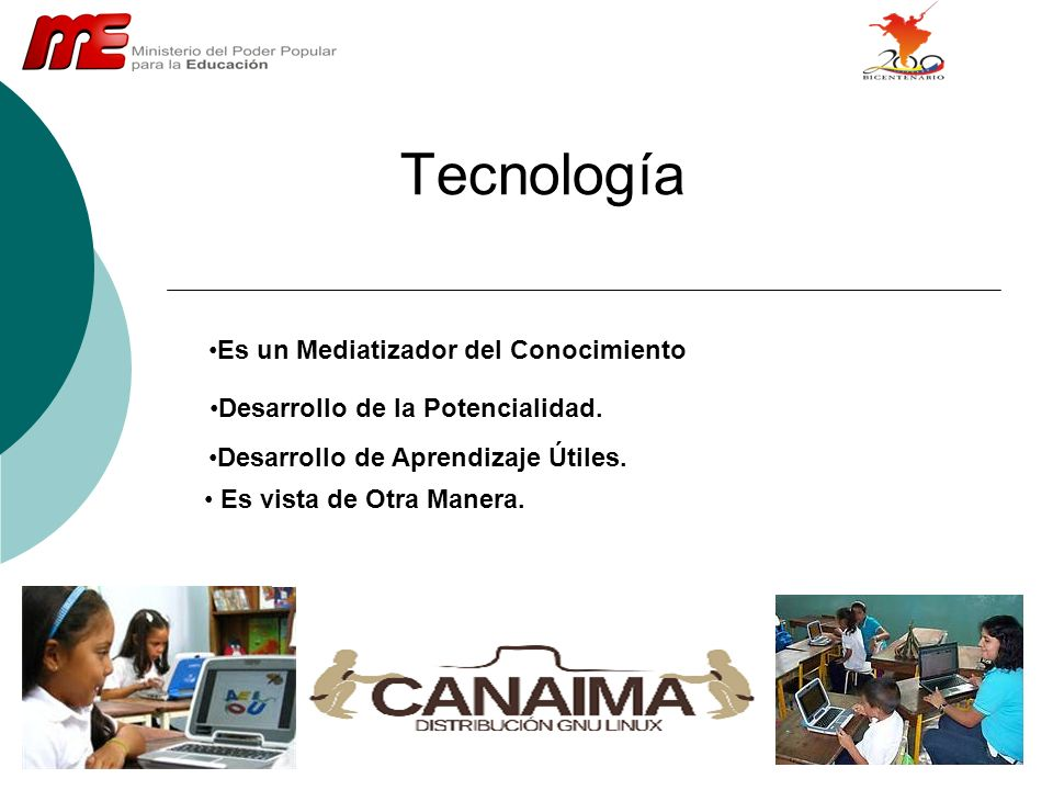 Tecnología Es un Mediatizador del Conocimiento