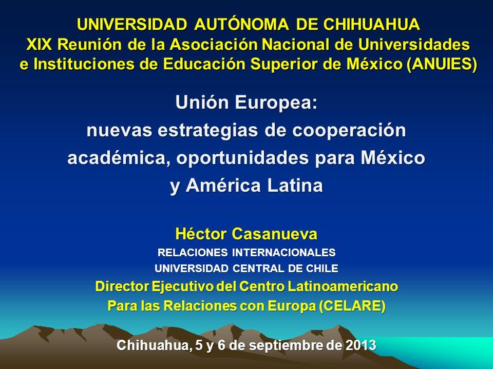 nuevas estrategias de cooperación académica, oportunidades para México