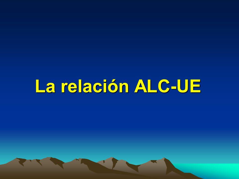 La relación ALC-UE
